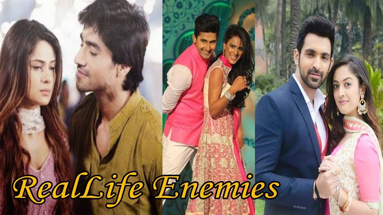 Television Couple Who Are Enemies In Real Life - Most