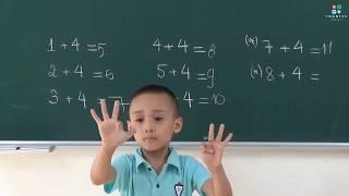 Hoc Toan chuan bi vao lop 1 - P4 (Hoc vui - Vui hoc)