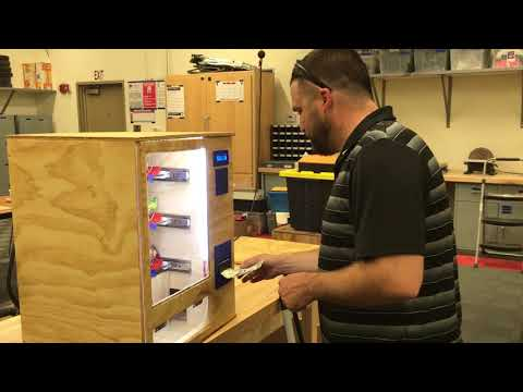 "High Schoolers Build a ""$1 Vending Machine"" - Hackster Blog"