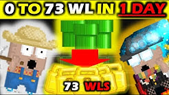GROWTOPIA PROFIT 0 TO 73 WLS IN 1 DAY !!! 2020 ( INSANE PROFIT~~)