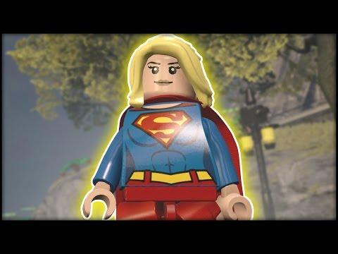 LEGO Dimensions - Supergirl Abilities & Red Lantern Supergirl Showcase