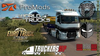 Euro Truck Simulator 2 TMP With Warriors & Friends tuesdays madness