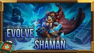 Hearthstone : Deck Tech Evolve Shaman Knights of the Frozen Throne