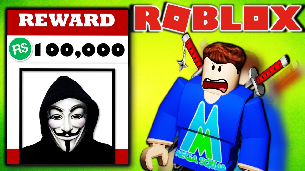 Stop Roblox Hacker Group 100k Robux Reward Ninja Squad Vs The