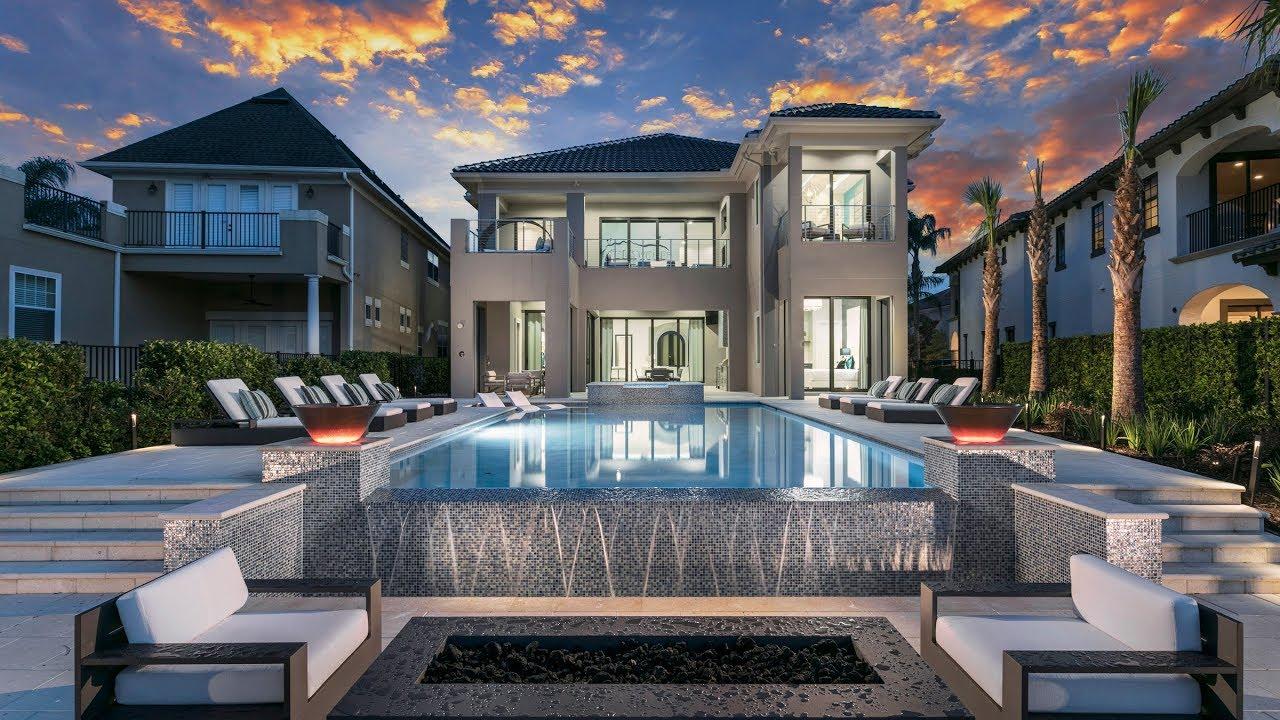 8 Bedroom Orlando Mansion Near Disney