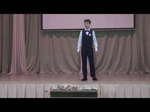 """Ануров Тимофей — А.С.Пушкин """"Воспоминания в Царском селе"""""""