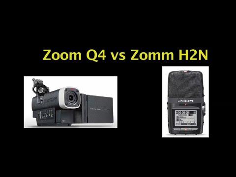 Zoom H2N vs Zoom Q4 Audio Comparison