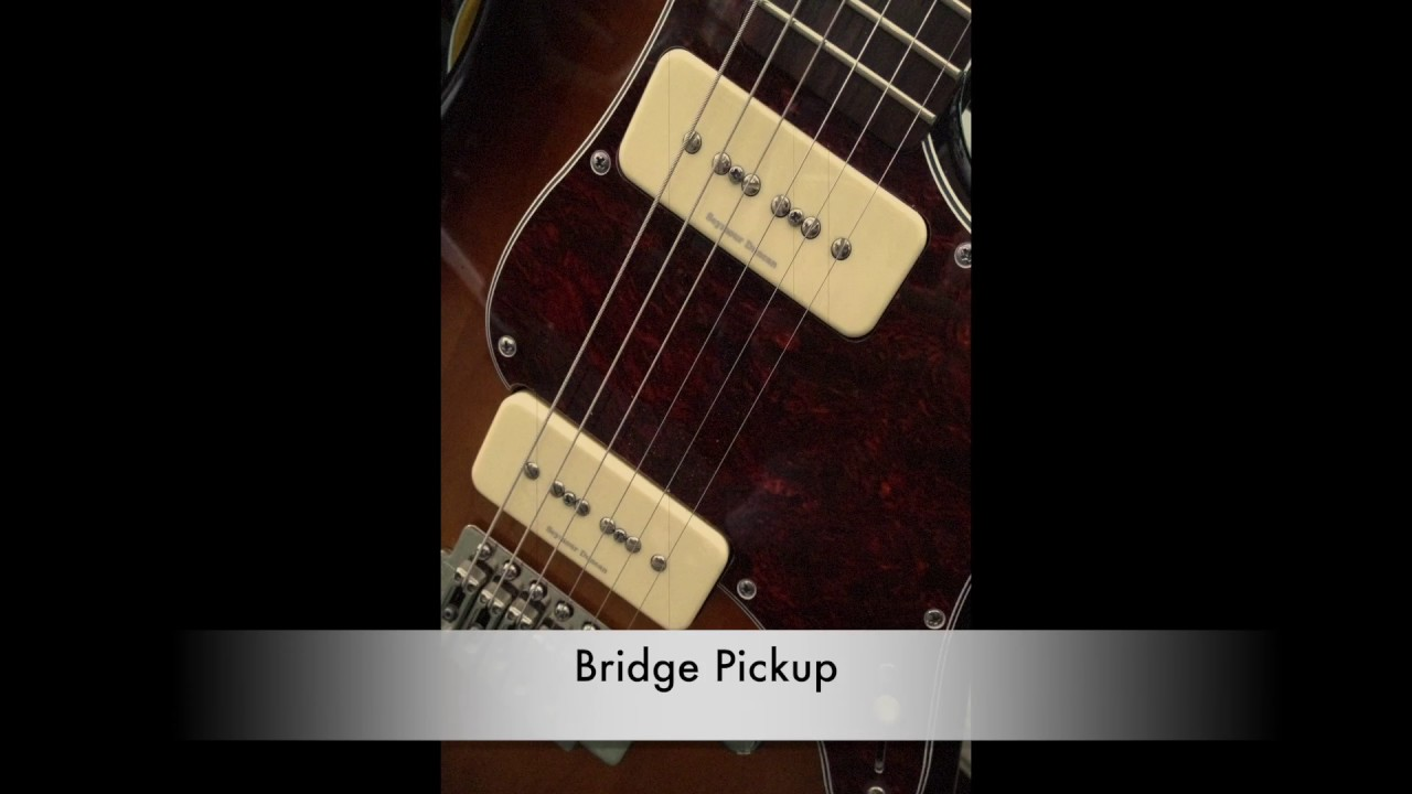 hight resolution of seymour duncan p90 stack pickups