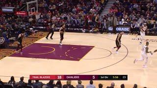 1st Quarter, One Box Video: Cleveland Cavaliers vs. Portland Trail Blazers