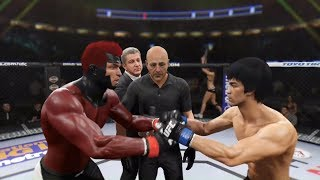 Gambit vs. Bruce Lee (EA sports UFC 2)