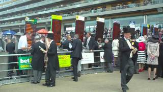£150K Bet placed on Frankel! In the Ring at Royal Ascot 2011 !!