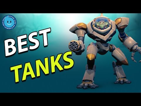 The Top 4 Best Tanks In Paladins! (Competitive Tierlist)