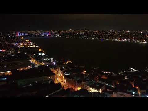 LIVE: Drone shows empty Istanbul streets as Turkey welcomes 2021