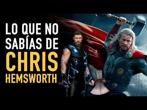 Lo que no sabías de Chris Hemsworth #CaminoaAvengersEndgame