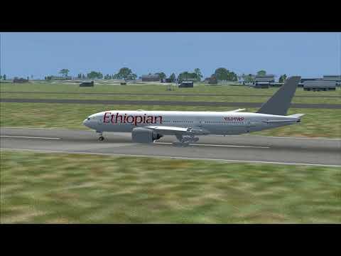 Flight from Brazzaville to Ouagadougou (Ethiopian)