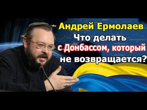 Адекватный политолог на Укр ТВ. Что делать с Донбассом, который не возвращается? Андрей Ермолаев.