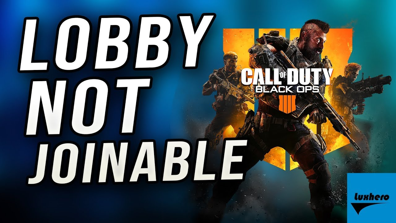 Black Ops 4 Getting Kicked Out Of Every Lobby Fix Youtube