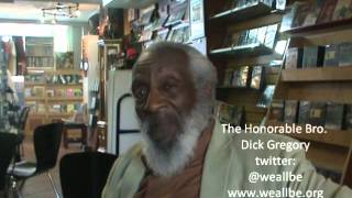 """""""Bro. Dick Gregory Unchained: On John Lennon, Yoko Ono & Subliminal Messages in Music."""""""