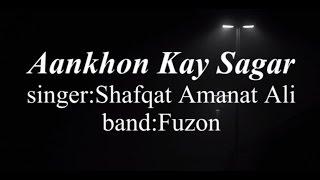 ankhon-ke-sagar-with-by-shafqat-amanat-ali-fuzon-heart-touching-song
