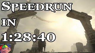 Shadow of the Colossus Remake - Speedrun in 1:28:40