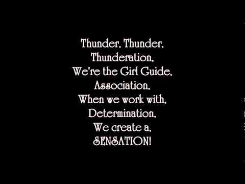 Thunderation - lyrics