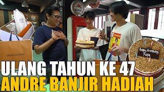 Download HARI ULANG TAHUN PENUH KEJUTAN.. ANDRE DAPAT KADO BANYAK DARI KELUARGA