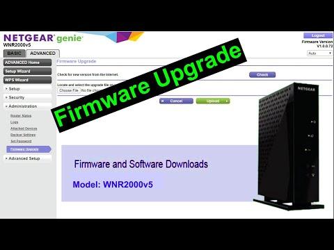 How To Update Firmware On NETGEAR Router 2020, Model WNR2000v5 [MK TricK Pro]