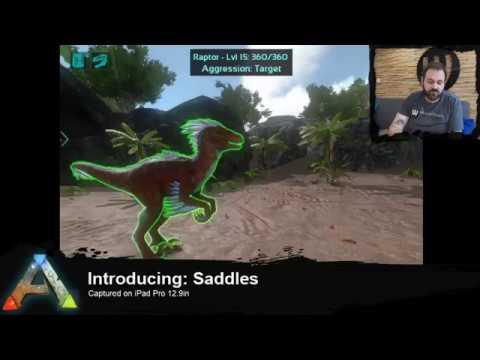 Introducing: Saddles (ARK: Survival Evolved Mobile)