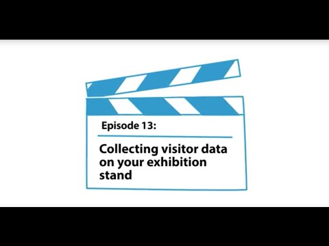 Collecting visitor data on your exhibition stand #13 - Mirage Display