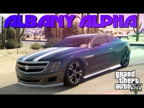 gta 5 custom cars 52 albany alpha drifting at sandy shores youtube. Black Bedroom Furniture Sets. Home Design Ideas