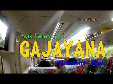[MasdaVlog#30] Kuy Naik KA GAJAYANA ke Blitar | Keretanya masih baru dan kinyis-kinyis