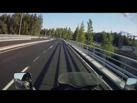 Driving through Kuopio Not using highway form east or north