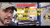 Chevy - GMC, Truck Or Suv ,No Crank No Start , PCM B Fuse Keeps