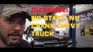 Chevy Truck - No Start No Crank Video