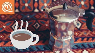 крепкий Кофе в Кофеварке Мока (гейзерной ). Эспрессо дома такой же, как в баре!