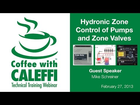 Hydronic Zone Control of Pumps and Valves