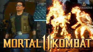 Mortal Kombat 11: Johnny Cage Confirmed For MK11 & Special Scorpion Finisher (Mortal Kombat 11)