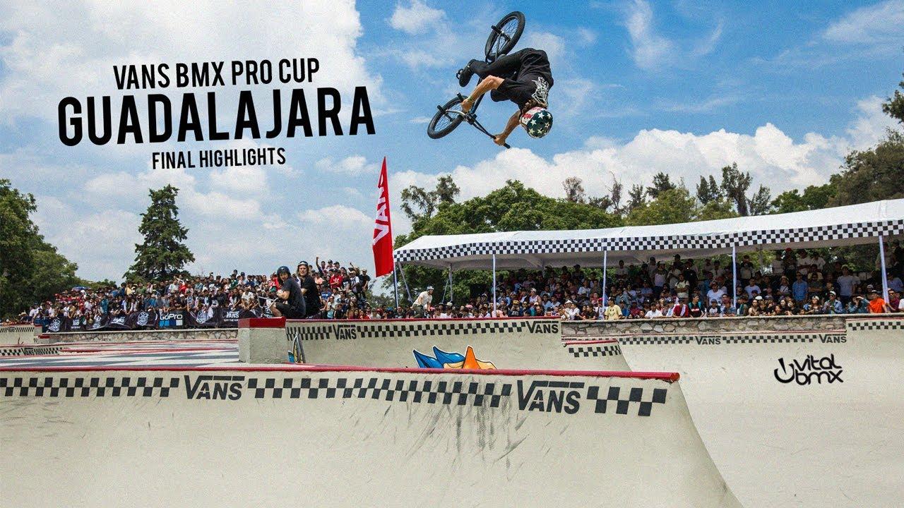 a276c166df 2018 Vans BMX Pro Cup  Guadalajara - Final Highlights - YouTube
