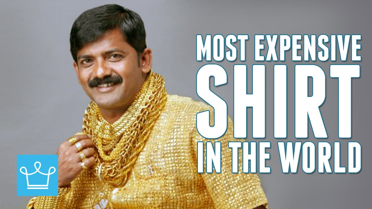 8c3135fc6c5 Most Expensive Shirt In The World - YouTube