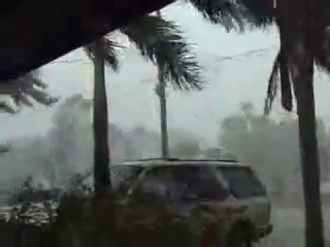 Hurricane Charlie at North Fort Myers, Florida