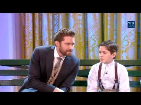 """Believe"" at ""Broadway at the White House"" 