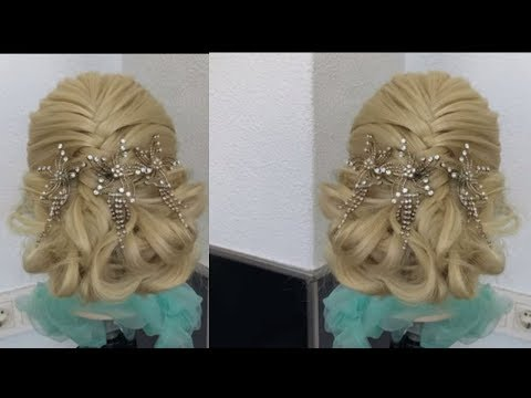 New hairstyle step by step 2019| easy updo hairstyle -Amal Hermuz thumbnail