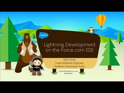 Lightning Development on the Force.com IDE