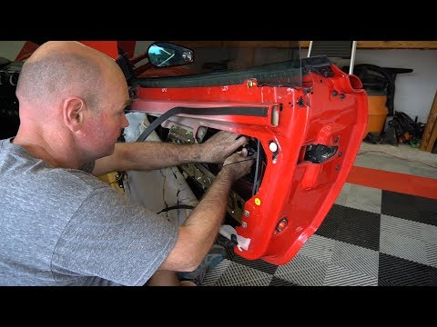 How to fix a broken Ferrari F430 Door Handle