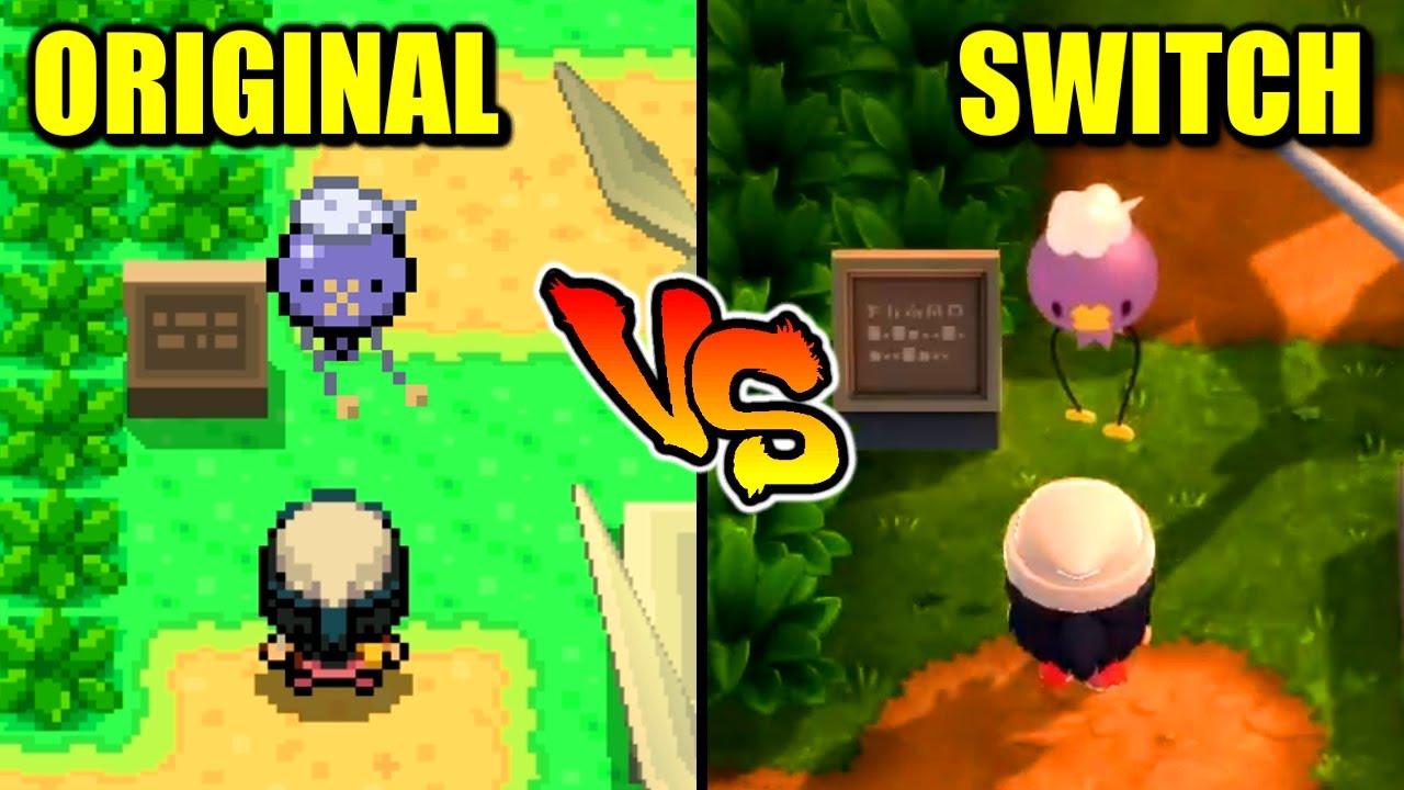 Pokémon Brilliant Diamond & Shining Pearl - Remake VS Original Comparison