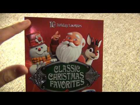 Classic Christmas Favorites 10 Holiday Favorites DVD Box Set Unboxing