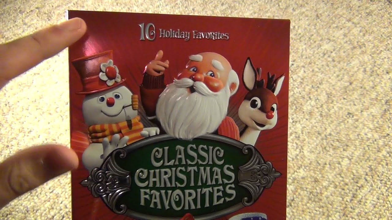 classic christmas favorites 10 holiday favorites dvd box set unboxing - Classic Christmas Favorites
