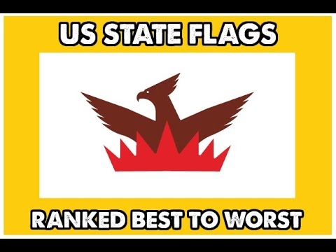 The BEST and WORST AMERICAN STATE FLAGS