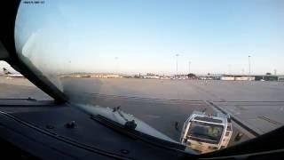 Красивый взлет из аэропорта Пафос (PFO) глазами пилота | Departure from Pafos (Cyprus) pilot view(Невероятно позитивный и по домашнему приятный аэропорт в городе Пафос на Кипре . Бесконечно прекрасные..., 2016-08-19T11:50:05.000Z)