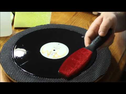 How To Clean Vinyl Albums Youtube